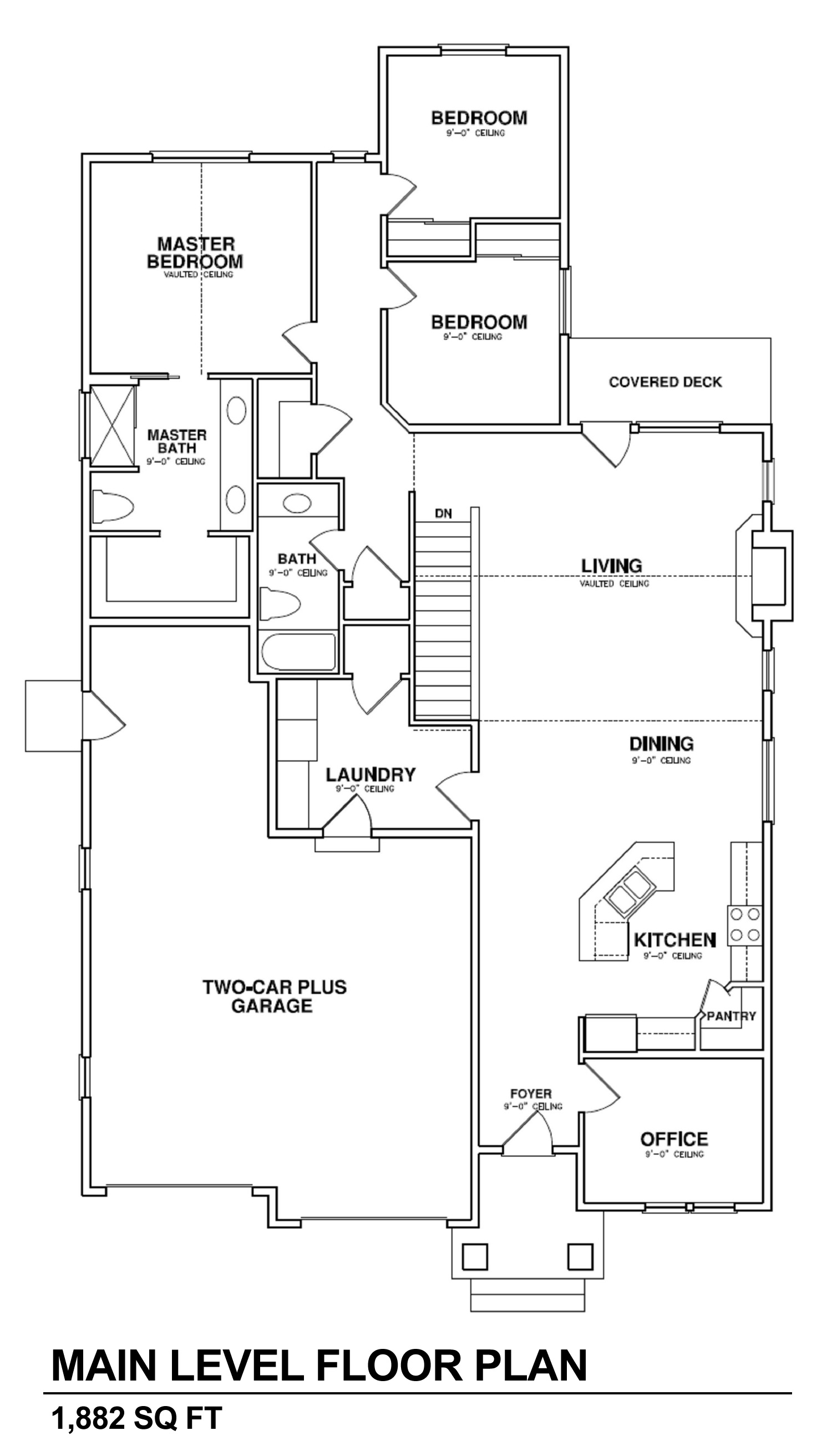 The revelstoke ii aspen homes for Aspen homes floor plans