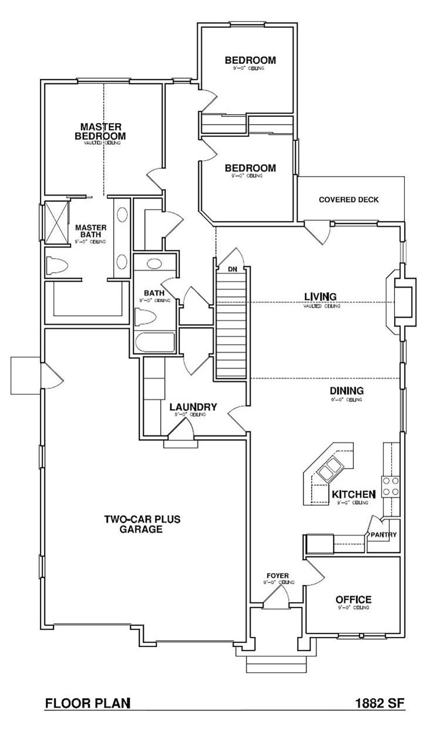 The whistler ii aspen homes for Aspen homes floor plans