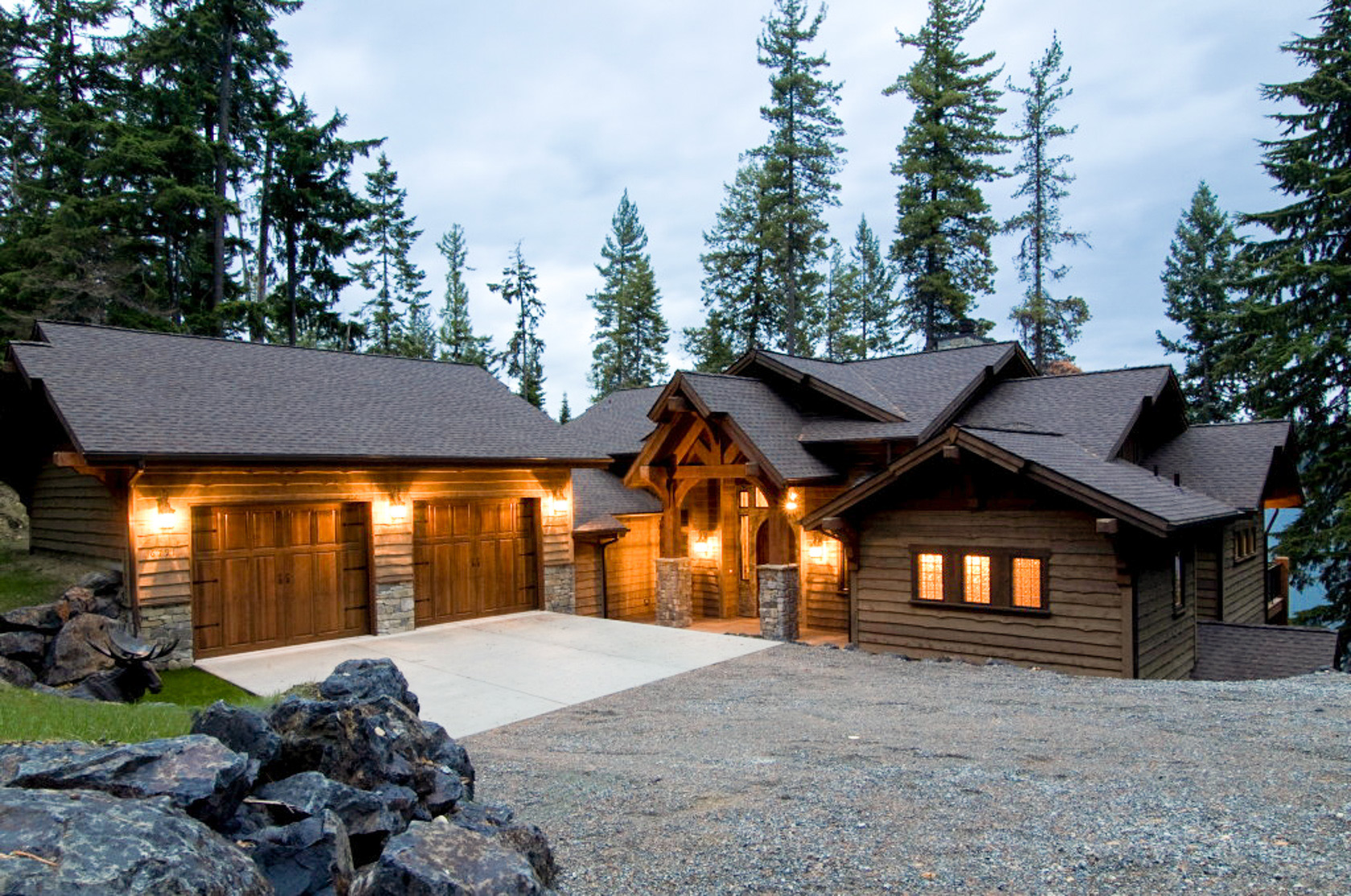 The alpine at lake view aspen homes for Alpine home design
