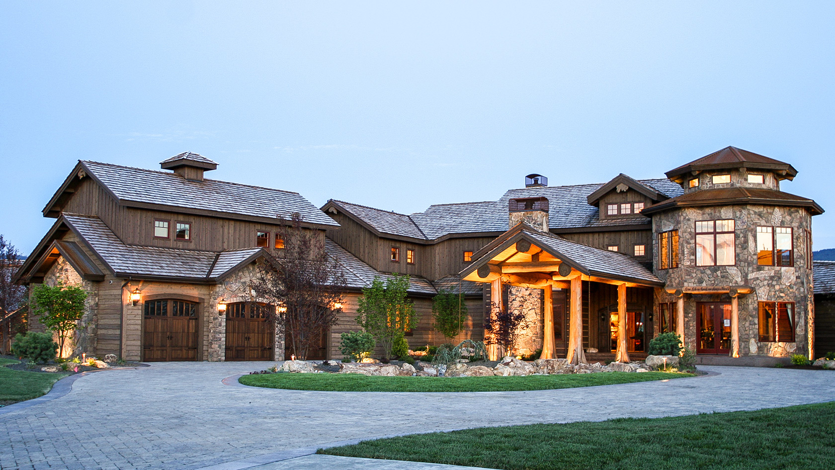 Home of the week aspen creek lodge aspen homes for Aspen homes floor plans