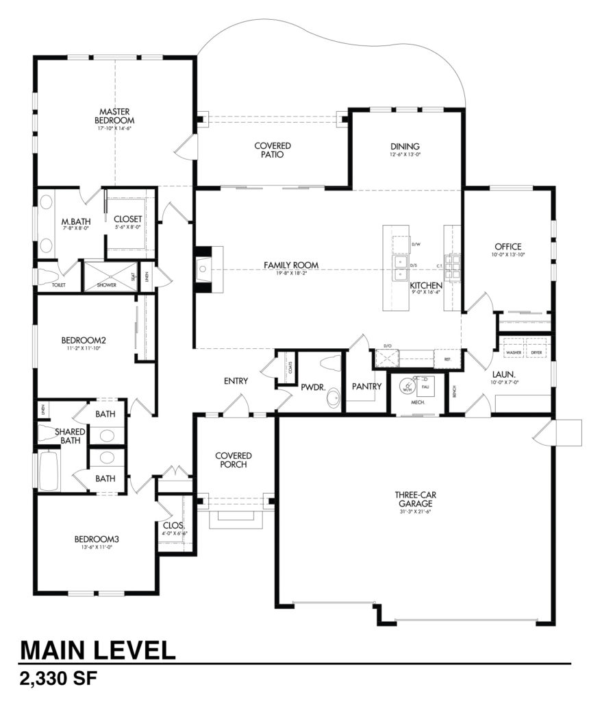 The northview aspen homes for Aspen homes floor plans